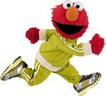 Elmo jogging
