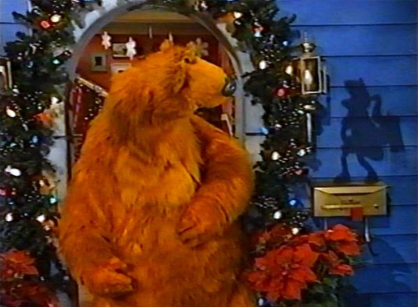 its kwanzaa time - Bear Inthe Big Blue House Christmas