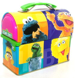 Msrf inc 2005 sesame tin lunchbox 3