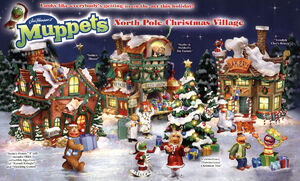 North Pole Christmas Village Muppet Wiki Fandom