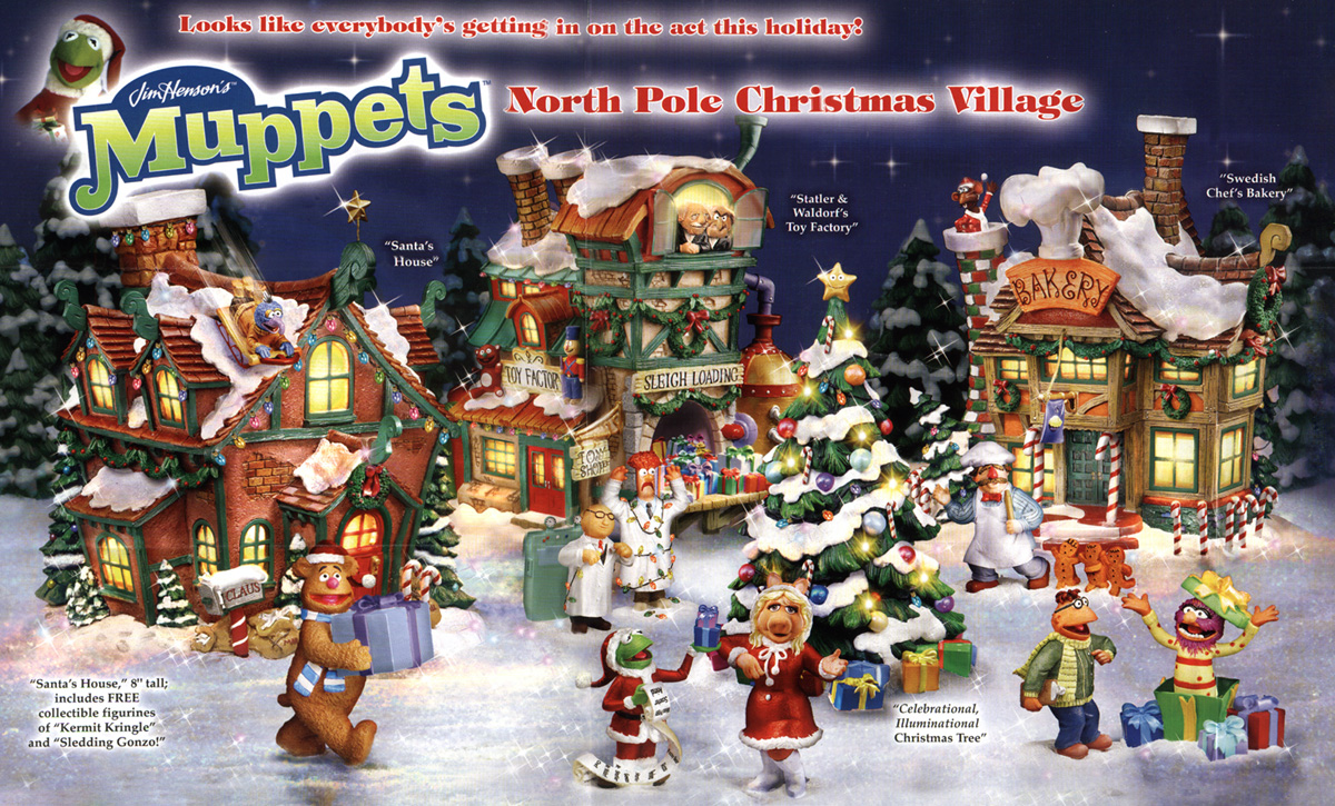 muppet xmas village - North Pole Christmas Decorations