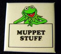 Muppet stuff button