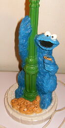 American family cookie monster sesame street lamp 1