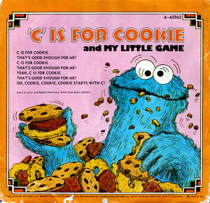 C is for Cookie single