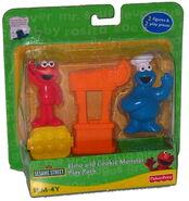 Elmo cookie play pack