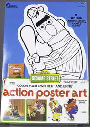 Friends activity color action poster art