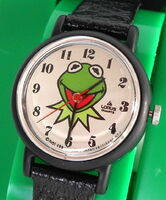 Lorus 1991 kermit watch