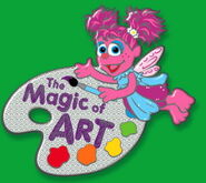 Magic of Art collection pin