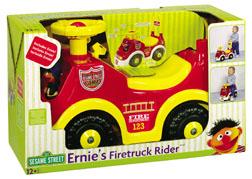 Processed plastic company pp ernie's fire truck rider 2