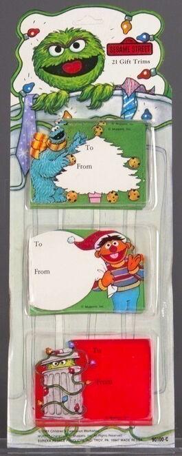 Eureka resale christmas gift trims cards matheiu
