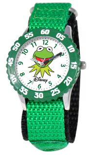 Ewatchfactory 2011 kermit stainless steel time teacher watch 2