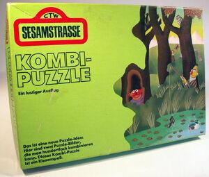 Gruner & jahr 1973 Sesamstrasse Kombi Puzzle1