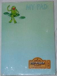 Hallmark 1980 notepad
