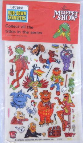 Letraset muppet 10