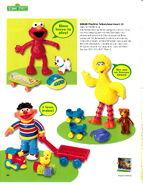 Fisher-price 2001 catalog playtime talkers elmo big bird ernie