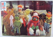 Milton bradley 1979 muppet movie puzzle ghost town