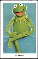 Sweden swap gum cards 10 kermit