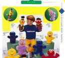 Sesame Street puppets (Applause)