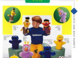 Sesame Street puppets (Applause)