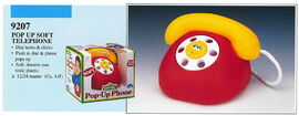 Illco 1992 baby toys pop-up phone