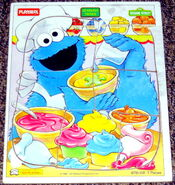 Playskool 1994 cookie monster puzzle