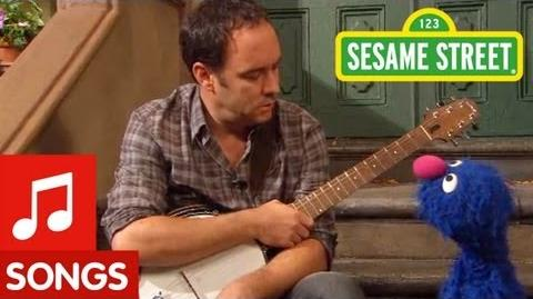 Sesame Street Dave Matthews and Grover Sing about Feelings