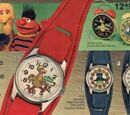 Sesame Street watches (Bradley Time)