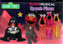 Elmo the musical space pizza