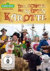 Sesamstrasse präsentiert- Der Schatz des Käptn Karotte DVD (2017-09-22)