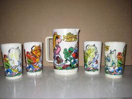 Deka mugs and jug