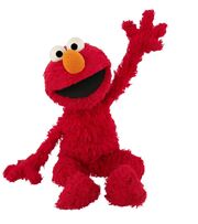 Elmo Sitting