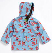 Hatley 2012 raincoat elmo