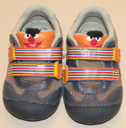 Stride rite toddler sneakers shoes ernie