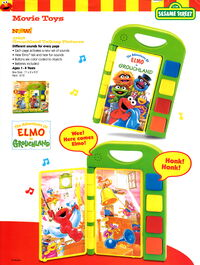Tyco 1999 catalog grouchland talking pictures toy elmo