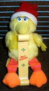 Applause 1988 big bird christmas stocking holder