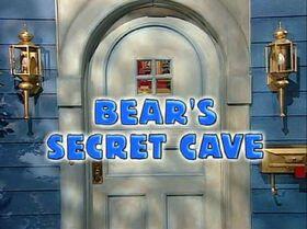Bear's Secret Cave