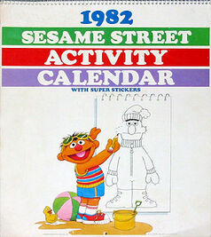 1982 Sesame Street Activity Calendar