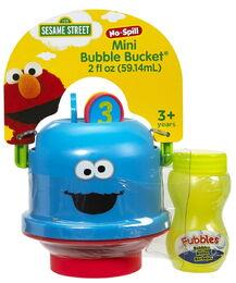 Cookie monster mini bucket 1