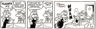 Gilchrist comic strip march 7 1985