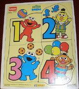 Playskool puzzle babies numbers