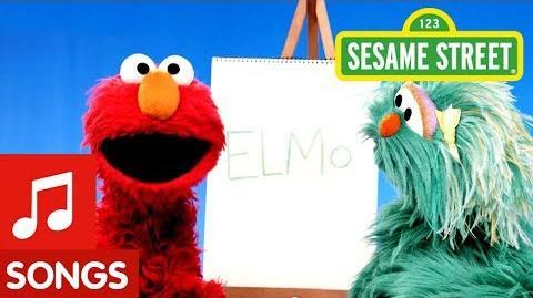Sesame Street Elmo Was His Name-O (BINGO) Elmo's Sing-Along