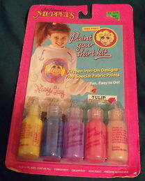 Tulip productions 1989 paint your shirt kit crafts 1