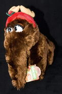 Applause plush christmas snuffy as a reindeer 1