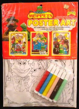 Avalon 1976 muppet show poster art crafts 1a
