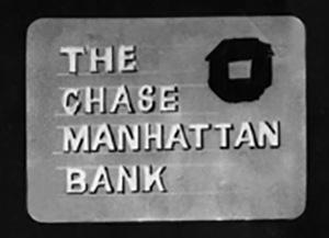 Chase Manhattan Bank storyboard title