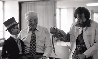 Edgar Bergen and Jim Henson