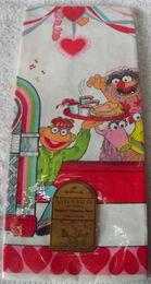Hallmark 1981 valentines party tablecloth 3