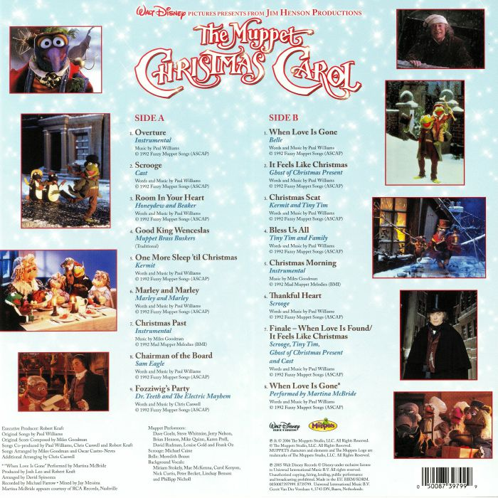 A Christmas Carol Soundtrack.The Muppet Christmas Carol Soundtrack Muppet Wiki Fandom