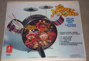 Muppet sound drum kit 2