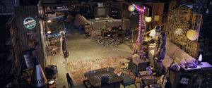 Ready Player One Aech's room